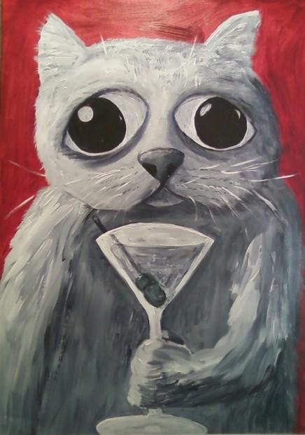 Cat_martini